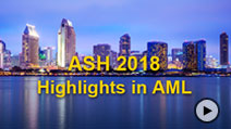 ASH 2018 Annual Meeting Highlights in AML